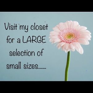 I have All sizes, including lots of XS & Smalls